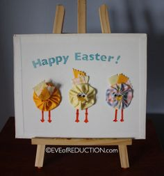 Easter Chick Board tutorial