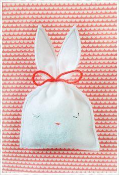 Bunny Candy Pouch tutorial