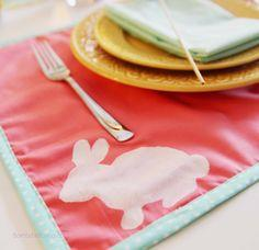 Easter Placemats Tutorial