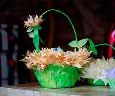 Coffee Filter Easter Baskets