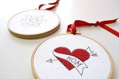 Mother?s Day embroidery