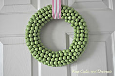 Keep Calm and Decorate: Spring Wreath!