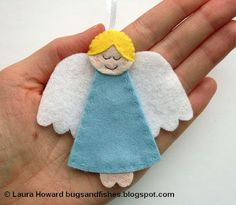 How To: Felt Angel Ornament
