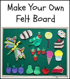 Make Your Own Felt Board