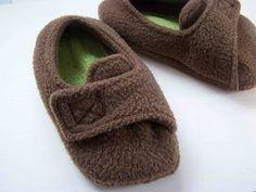 Slippers Tutorial and Pattern
