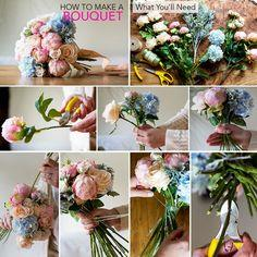 How To Make a Bouquet