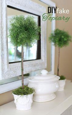 How to Make a Fake Topiary