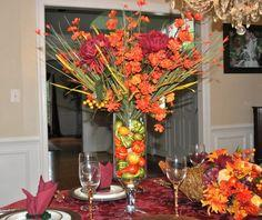 Fun & Colorful Thanksgiving Floral
