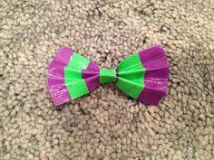 Make a Duct Tape Hair Bow