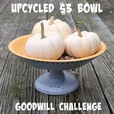 Goodwill Challenge: Wooden Bowl