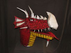 Duct Tape Dragon Puppet