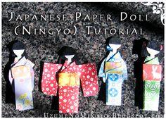 Make a Japanese Paper Doll