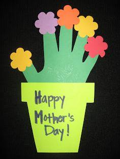 Mother's Day Hand Print Flower