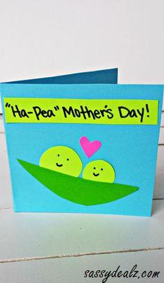 Ha-Pea Mother's Day Card