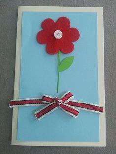 Cards / Flower Card for Mom