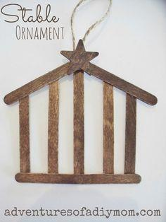 Make a Stable Ornament