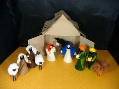 Pipe cleaner Nativity Crafts