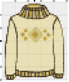 Needlepoint a Sweater