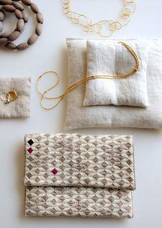 New Year?s Needlepoint Clutch