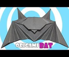 Origami Bat Instructions