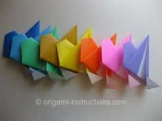 Origami Modular 8-Pointed Star