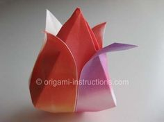 Origami Traditional Tulip