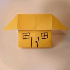 Origami Little House