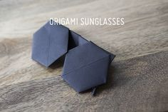Origami Sunglasses!
