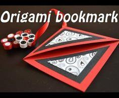 make an origami bookmark