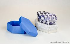 Origami Long Gem Gift Box