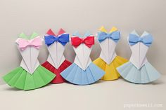 Origami Sailor Moon Dress