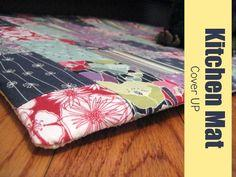 Kitchen Mat Cover Up Tutorial