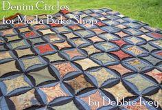 Denim Circles Quilt