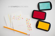 STAMPED NOTECARDS