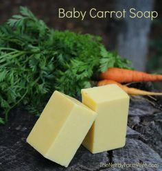 baby carrot soap palm free recipe
