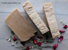 How to hot process milk soap