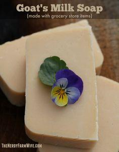 How to Make Goat's Milk Soap