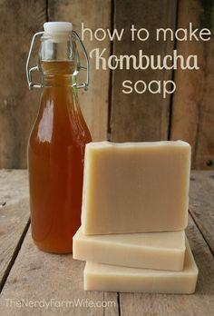 Make Kombucha Soap Palm Free Recipe