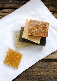 Exfoliating Homemade Soap - 4 Ways