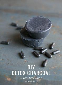 Detox Charcoal + Tea Tree Soap