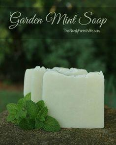 Garden Mint Soap Cold Process Soap Recipe