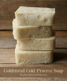 Goldenrod Cold Process Soap Recipe