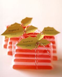 Striped Soaps | Martha Stewart
