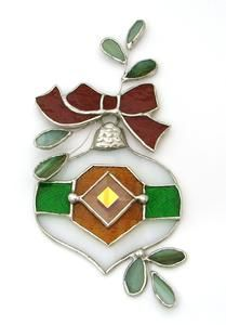 Free Stained Glass Ornament