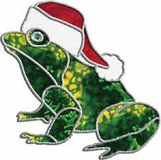Christmas Holiday Frog Free Pattern