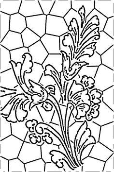 Stained Glass Painting Patterns
