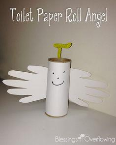 Toilet Paper Roll Angel