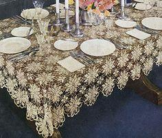 Queen Anne's Lace Tablecloth