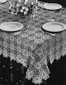 Mosaic Tablecloth Pattern
