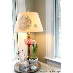 Gilded Lampshade Project